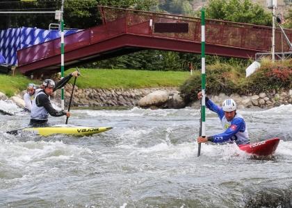 Slovakia C1 team Martikan Slafkovsky Benus 2019 world championships La Seu