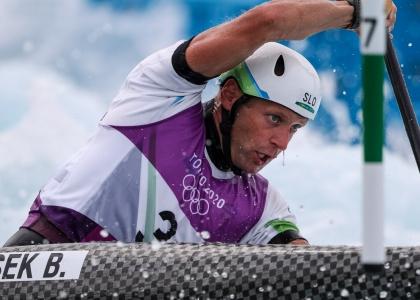 Slovenia Benjamin Savsek Tokyo C1 gold Olympics 2021