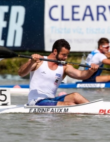 Paracanoe athlete Szeged World Cup 2017