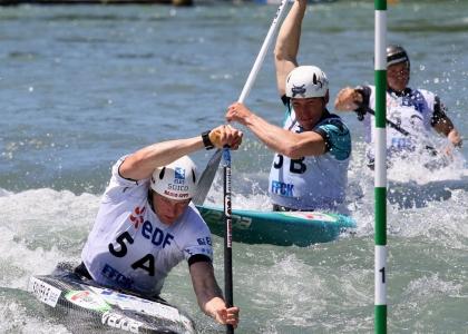 Slovenia team event Pau European championships 2019