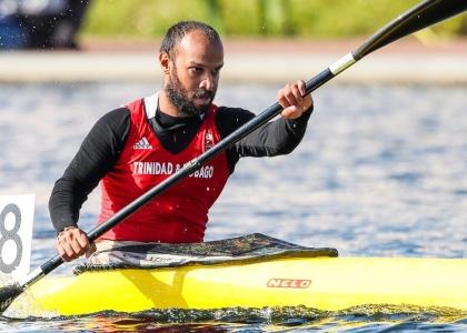 Trinidad Tobago Satyam Maharaj Duisburg canoe sprint 2019