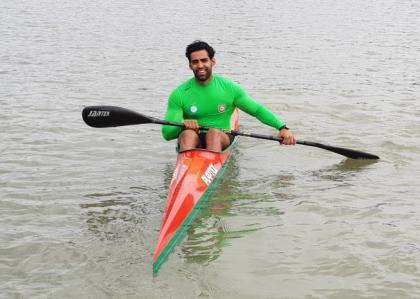 Tunisia Outail Khatali 2019 junior U23 canoe sprint world championships Pitesti