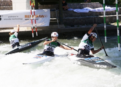 Czech U23 canoe women Tacen world championships 2021