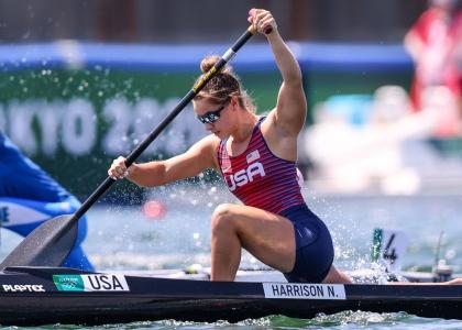 USA Nevin Harrison C1 200 canoe sprint Tokyo Olympics