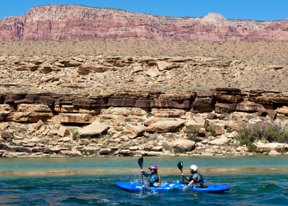 Paddle100 best canoe kayak stand up paddling SUP locations planet world tourism travel Colorado River Grand Canyon America