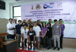 Paracanoe classification training Asia Bangkok Thailand