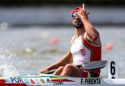 Portugal Fernando Pimenta canoe sprint Poznan 2019