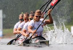 Hungary K4 500 2017 world championships