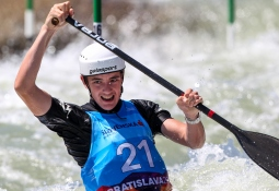 New Zealand Jack Egan canoe slalom junior