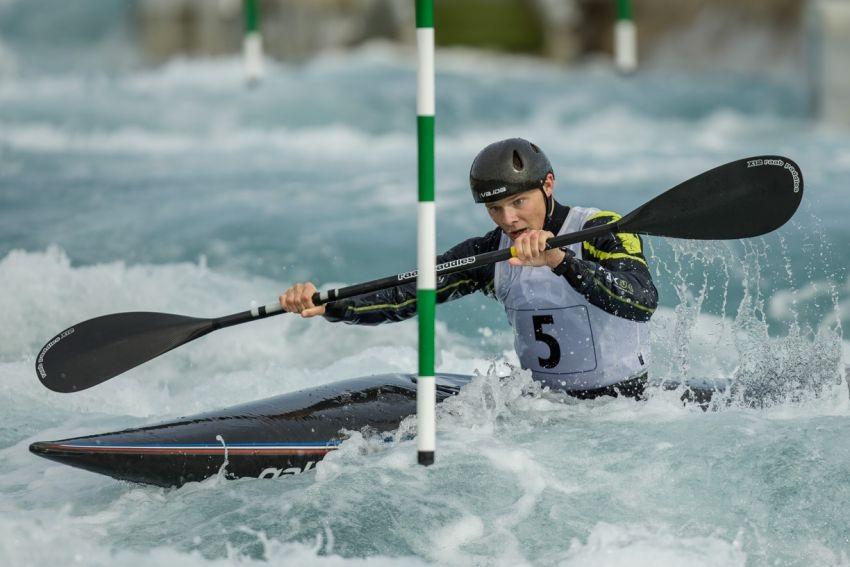 Chris bowers canoe slalom British Canoeing