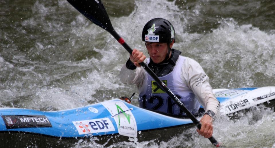 Cyprien Leriche (FRA) Wildwater Canoeing Europe