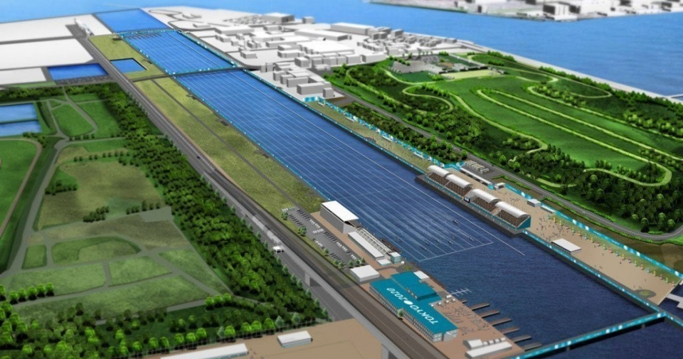 Canoe Sprint Venue Tokyo