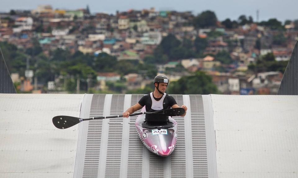 Lucien DELFOUR (AUS) K1M Rioe 2016 Olympic Games