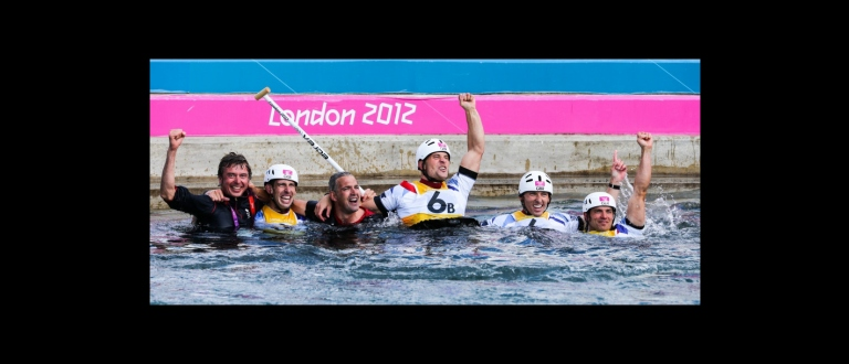 Great Britain C2M teams Celebrate at Olympics