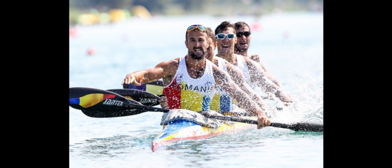 Romanian K4M Canoe Sprint