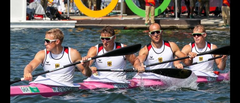 German K4M Canoe Sprint