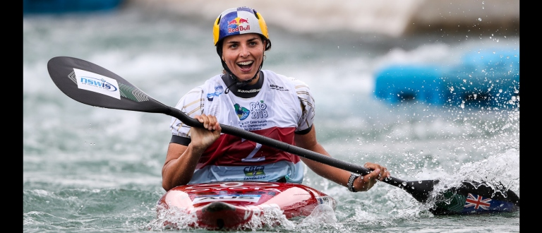 Jessica Fox K1 gold world championship Rio 2018