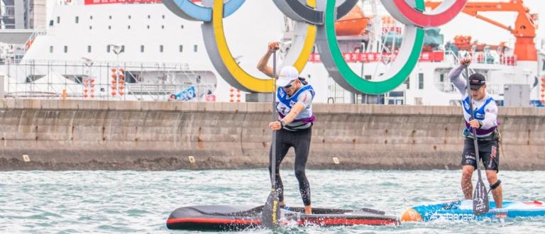 Stand up paddling world championships Qingdao 2019 SUP Hasulto Booth