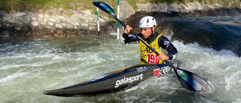 African Olympic qualifiers La Seu canoe slalom 2021
