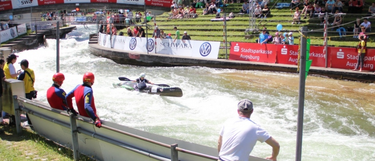 Augsburg Wildwater Canoeing Ranking and Cup races 2016