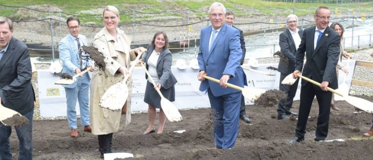 Augsburg groundbreaking ceremony 2020