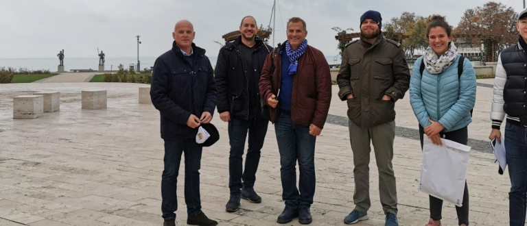 SUP Hungary Balatonfured site visit 2020