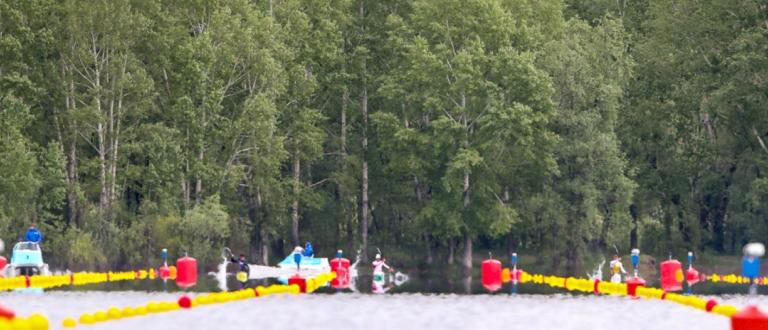 Barnaul canoe sprint scenic Olympic qualifiers 2021