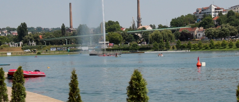 Belgrade canoe sprint venue