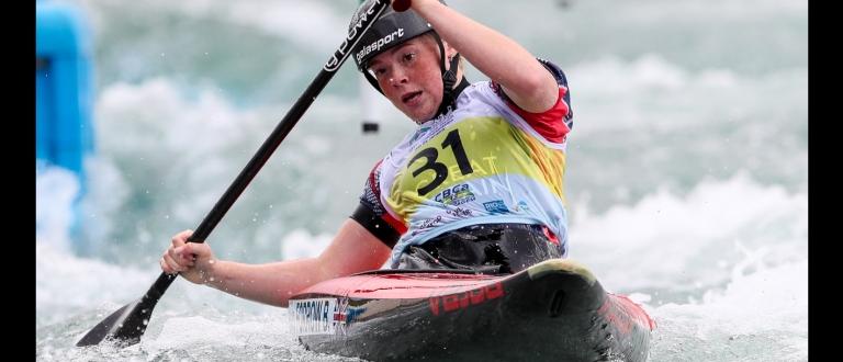 Great Britain canoe Bethan Forrow Rio
