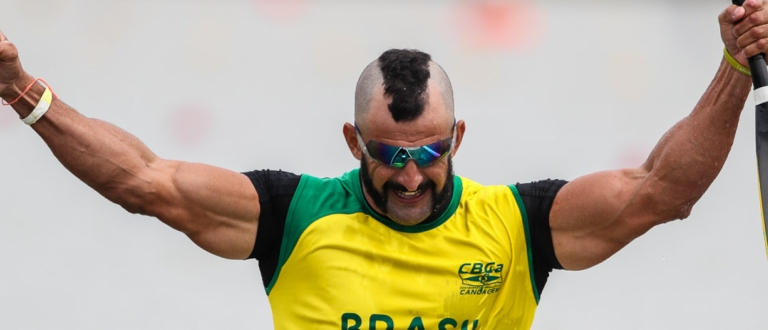 Brazil Fernando Rufino de Paulo paracanoe Szeged 2021
