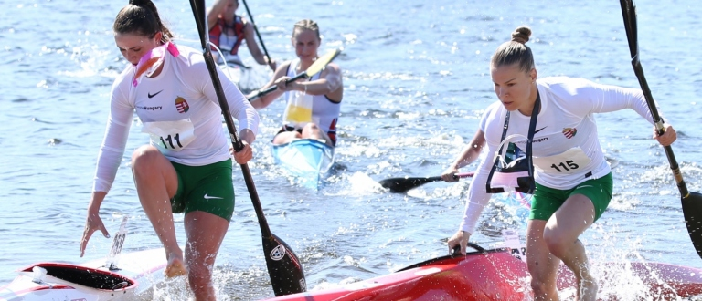 Canoe marathon world cup women Norway 2019