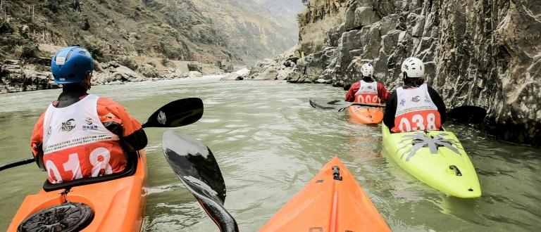 Chinese wild water event 2018