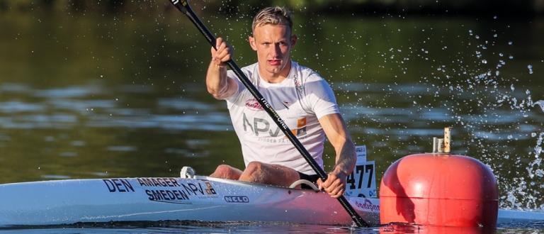 Denmark Mads Pedersen K1 marathon Pitesti 2021