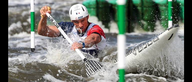 Denis Gargaud Chanut - France, 2018 ICF Canoe Slalom World Cup 2 - Krakow