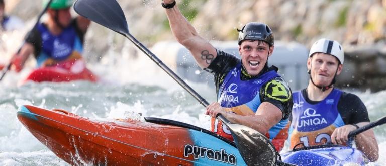 Great Britain Joe Clarke extreme slalom Bratislava 2021
