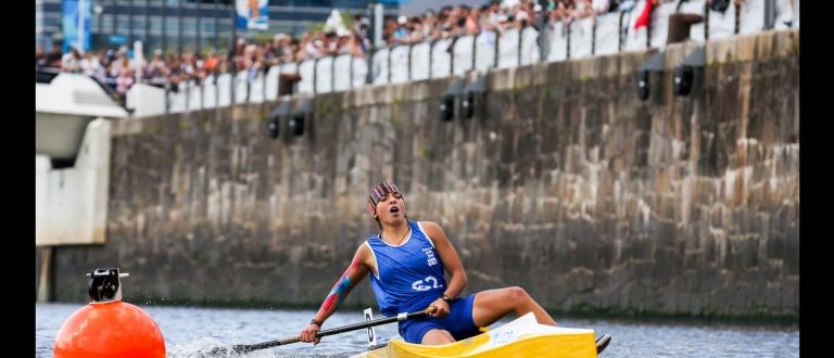 Uzbekistan Gulbakhor Fayzieva canoe Youth Olympic Games 2018
