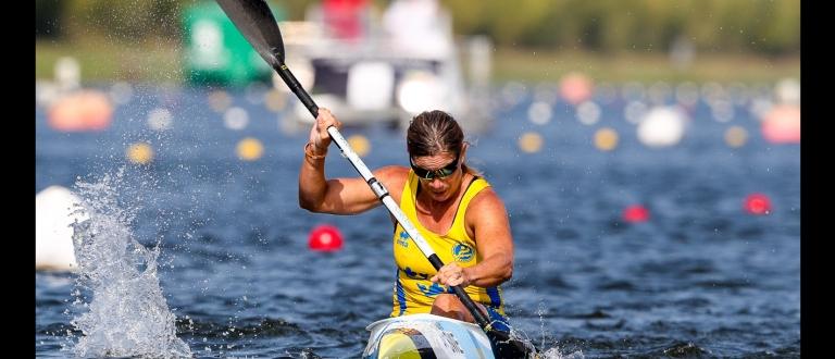 Sweden Helene Ripa paracanoe gold Portugal 2018