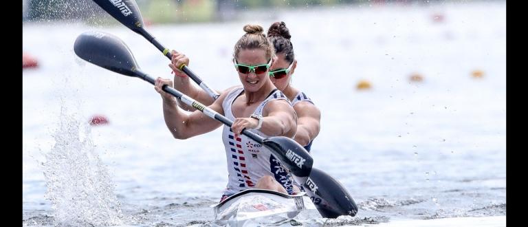 France Manon Hostens Sarah Guyot K2 500 Duisburg 2019
