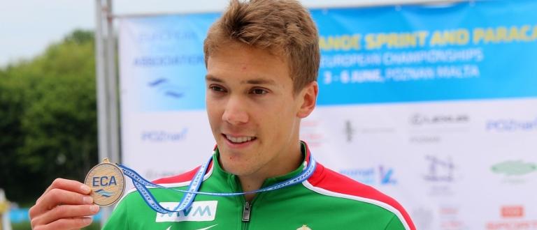 Hungary Balint Kopasz K1 500 Poznan canoe sprint Europeans 2021
