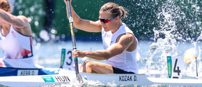 Hungary Danuta Kozak K1 500 Tokyo Olympics