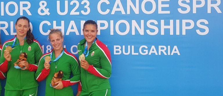 Hungary U23 K4 Plovdiv 2018 U23 Junior World Championships