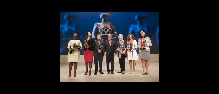 Hungary Katalin Rozsnyoi Lifetime Achievement Award IOC
