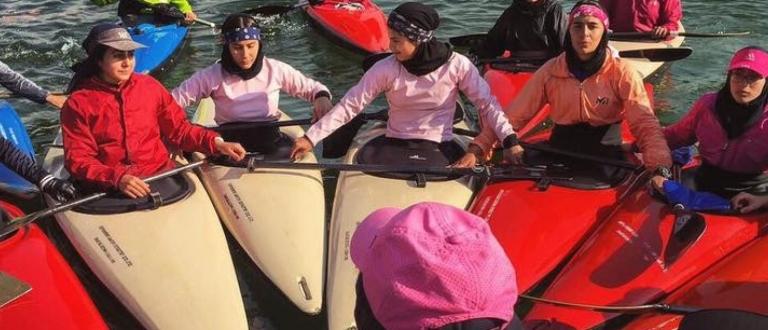 Iran coaching canoe slalom 2019