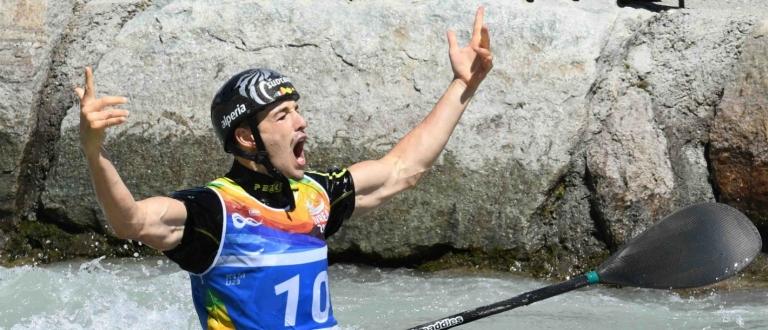 Italy Jakob Weger Ivrea 2018 K1