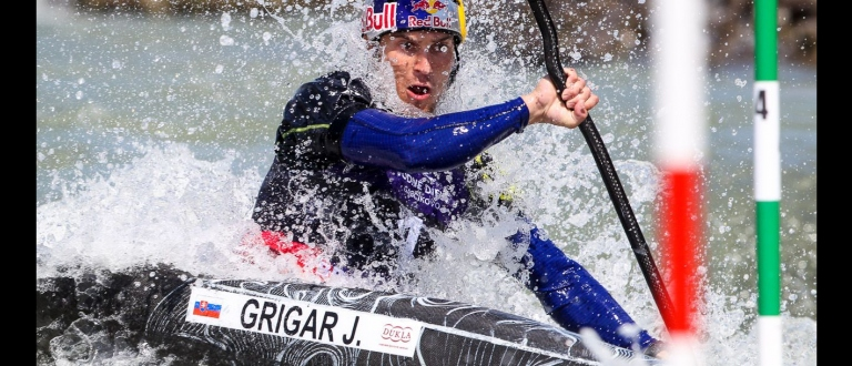 Jakub GRIGAR SVK ICF Junior & U23 Canoe Slalom World Championships Bratislava 2017