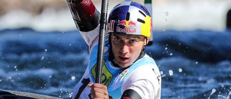 Slovakia Jakub Grigar slalom world championship La Seu 2019