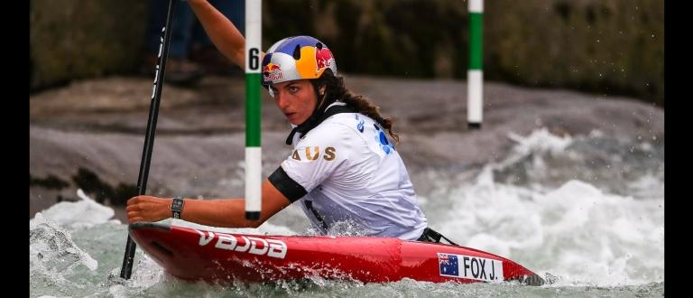 Australia Jessica Fox C1 Tacen