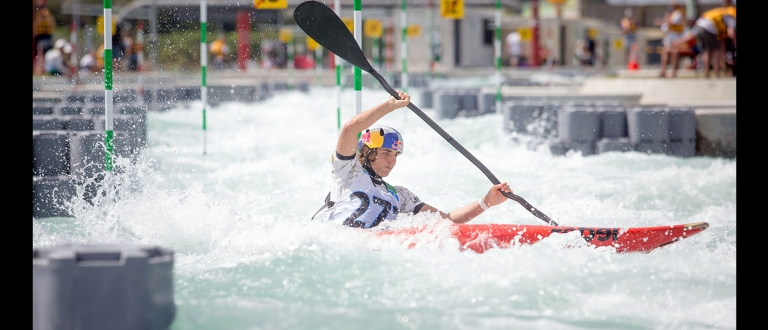 Jess Fox  (AUS) K1W in New Zealand