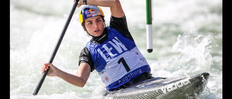 Australia Jessica Fox C1 Augsburg