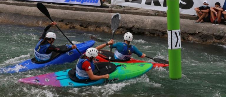 Extreme canoe slalom junior and U23 world championships Tacen 2021